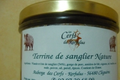 Terrine de sanglier natrure 
