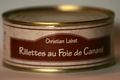 Rillettes au foie de canard  250 g