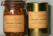 Cassoulet Landais aux Haricots Tarbais - boite et bocal 750 g