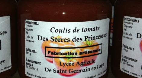 Coulis de tomates