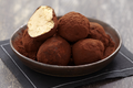 Truffes chocolat café