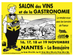 Salon des vins et de la gastronomie nantes nantes 44000 for Salon gastronomie nantes