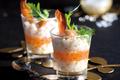 Tartare de Saint Jacques aux œufs de saumon  façon Compagnons du Goût