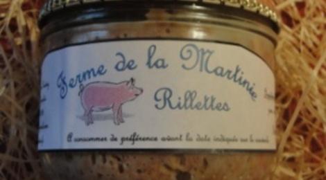 Rillettes de porc 380 grs