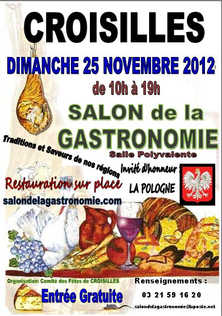 Salon de la gastronomie croisilles 62128 for Salon de la gastronomie