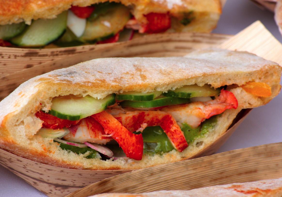 Recette le pan bagnat de mougins - Cuisine belge recettes du terroir ...