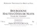 Vin blanc Bourgogne - Hautes Cotes de Nuits 2011 - Clos du Vignon