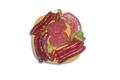 Assortiment colis de base (60%) avec un mélange de produits transformés (40% du colis)