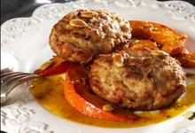Steak de Poulet grillé, potimarron confit miel et cardamome
