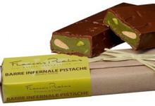 Barre infernale pistache