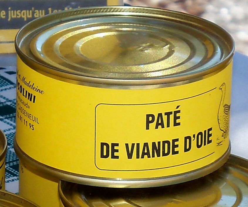 P t de viande d 39 oie 200 grs for Garage patte d oie