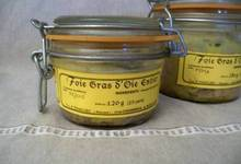 Foie gras d'oie entier 120 grs