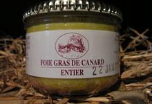 Foi gras de canard entier 180 grs