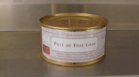 Pâté au foie gras de canard