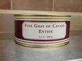 Foie gras de canard entier 240 grs