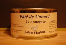 Pâté de canard à l'Armagnac