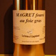 Magret de canard fourr au foie gras