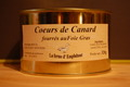 8 Coeurs de canard fourrs au foie gras