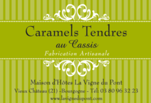 Caramels Tendres au Cassis