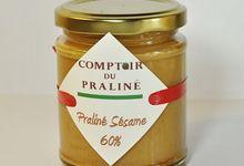 Pâte à tartiner Praliné - Sésame 60%