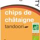Chips de châtaigne Tandoori