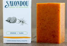 Savon orange ylang