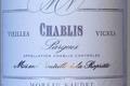 """Chablis Vielles Vignes """" Les Pargues"""""""