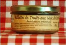 Rillettes de truite aux Noix de Saint-Jacques Maison SAINT-LO
