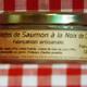 Rillettes de saumon à la noix de coco Maison SAINT-LO