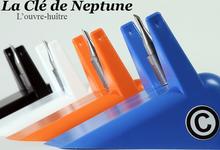 """L'ouvre huitre révolutionnaire, """"la Clé de Neptune""""."""