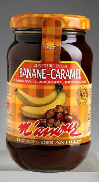 confiture m'amour banane caramel