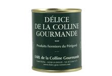 Bloc de foie gras de canard au confit de figues 130g - Bernard Vernet