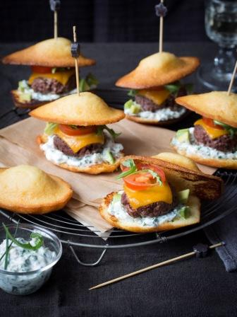 recette mini madeleine burgers. Black Bedroom Furniture Sets. Home Design Ideas