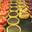Tartellettes  fruits, fraises, chocolat, citron, framboises, citron meringué