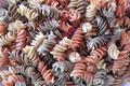 Pâtes tricolores