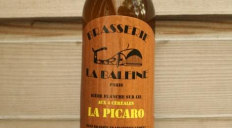 La Picaro, Bière blanche sur lie