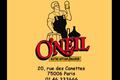 O'Neil, brasserie