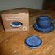 Tasse bleue Brulot Flamme des Anges