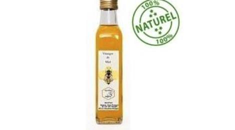 Vinaigre vin blanc Miel  ( vin Blanc  d'Anjou )