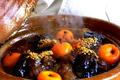 Tagine d'agneau aux Aubergines et Mandarines confites