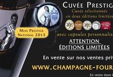 Édition Limitée Cuvée Prestige Geneviève de FONTENAY Champagne Philippe FOURRIER