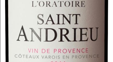 AOC Coteaux Varois en Provence Rouge 2011 - L'Oratoire