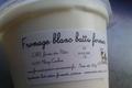 Fromage blanc battu