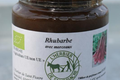 Marmelade de bâtons de rhubarbe