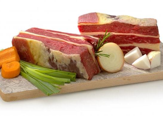 1 kg de viande de boeuf pour pot au feu
