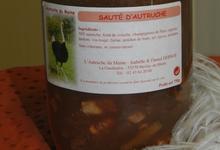 Sauté d'autruche