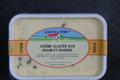 crème glacée aux rhum et raisins