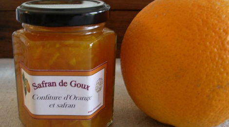Confiture d'orange et safran de Goux