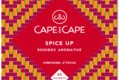 Cape and Cape - spice up - rooibos - arômatisé - épices - infusettes - sachets individuels
