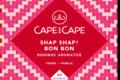 cape and cape - shap shap bon bon - rooibos - aromatisé - infusettes - sachets individuel - pyramide